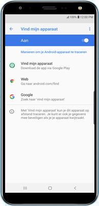 Samsung N7100 Galaxy Note II - Beveilig je toestel tegen verlies of diefstal - Maak je toestel eenvoudig BoefProof - Stap 4
