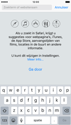 Apple iPhone 6 (iOS 10) - internet - hoe te internetten - stap 3