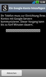 LG Optimus Black - Apps - Konto anlegen und einrichten - 8 / 19