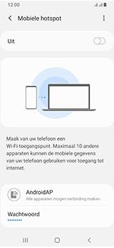 Samsung Galaxy A40 - Internet - mijn data verbinding delen - Stap 11