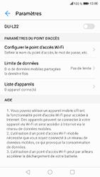 Honor 6A - Internet et connexion - Partager votre connexion en Wi-Fi - Étape 10