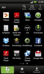 HTC One V - WLAN - Manuelle Konfiguration - 3 / 9