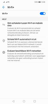 Huawei Mate 20 Lite - wifi - schakel Wi-Fi Assistentie uit - stap 8