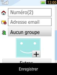 LG T385 - Contact, Appels, SMS/MMS - Ajouter un contact - Étape 9