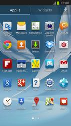 Samsung N7100 Galaxy Note II - Wifi - configuration manuelle - Étape 2