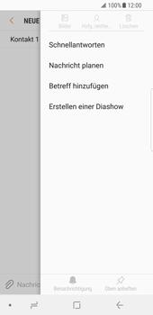 Samsung Galaxy S8 - MMS - Erstellen und senden - 11 / 22
