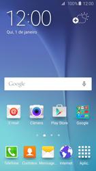 Samsung Galaxy S6 - Wi-Fi - Como configurar uma rede wi fi - Etapa 1