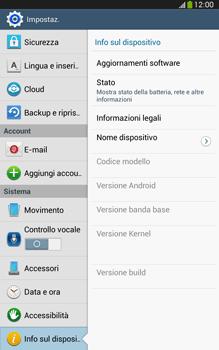Samsung Galaxy Tab 3 8-0 LTE - Software - Installazione degli aggiornamenti software - Fase 6
