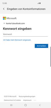 Samsung Galaxy S10 - E-Mail - Konto einrichten (outlook) - 8 / 16