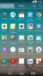 LG G3 - Applicazioni - Come verificare la disponibilità di aggiornamenti per l