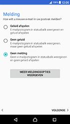Sony Xperia X Compact (F5321) - E-mail - Account instellen (POP3 met SMTP-verificatie) - Stap 22