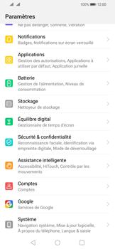 Huawei P Smart (2019) - Appareil - Réinitialisation de la configuration d