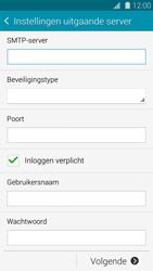 Samsung G900F Galaxy S5 - E-mail - Handmatig instellen - Stap 13