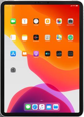 Apple iPad mini 4 - iPadOS 13 - Applications - Créer un compte - Étape 1