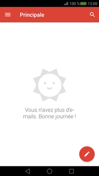 Huawei Mate S - E-mail - Configuration manuelle (gmail) - Étape 4