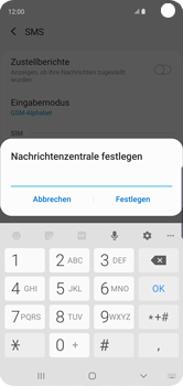 Samsung Galaxy S10 - SMS - Manuelle Konfiguration - Schritt 10