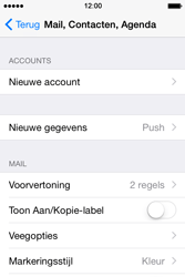Apple iPhone 4S (iOS 8) - e-mail - handmatig instellen - stap 4