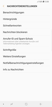 Samsung Galaxy S8 Plus - Android Oreo - SMS - Manuelle Konfiguration - Schritt 6