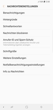 Samsung Galaxy S8 Plus - SMS - Manuelle Konfiguration - 6 / 11