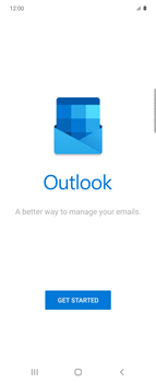 Samsung Galaxy Z flip - E-mail - 032c. Email wizard - Outlook - Step 5