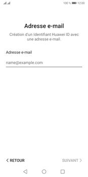 Huawei Y5P - Applications - Créer un compte - Étape 13