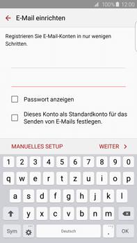 Samsung G928F Galaxy S6 edge+ - E-Mail - Konto einrichten - Schritt 6