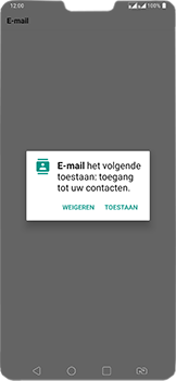 LG v40-thinq-lm-v405ebw - E-mail - Account instellen (IMAP zonder SMTP-verificatie) - Stap 22