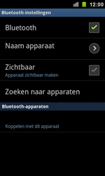 Samsung I9100 Galaxy S II - Bluetooth - koppelen met ander apparaat - Stap 9