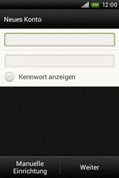 HTC A320e Desire C - E-Mail - Konto einrichten - Schritt 7