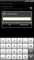 HTC Sensation XE - SMS - Manuelle Konfiguration - 7 / 8