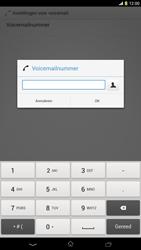 Sony C6833 Xperia Z Ultra LTE - Voicemail - Handmatig instellen - Stap 8