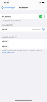 Apple iPhone XS Max - iOS 13 - Bluetooth - Verbinden von Geräten - Schritt 8