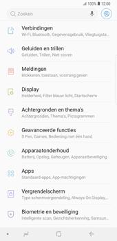 Samsung galaxy-note-9-sm-n960f - Beveiliging en ouderlijk toezicht - Hoe wijzig ik mijn SIM PIN-code - Stap 4
