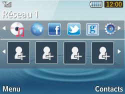 Samsung S3570 Chat 357 - Réseau - utilisation à l'étranger - Étape 13