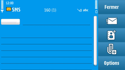 Nokia N97 - MMS - envoi d'images - Étape 6
