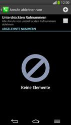 LG G Flex - Anrufe - Anrufe blockieren - 7 / 12