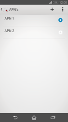 Sony D5803 Xperia Z3 Compact - Internet - handmatig instellen - Stap 18