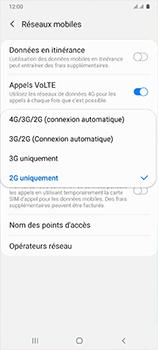 Samsung Galaxy A41 - Internet et connexion - Activer la 4G - Étape 7