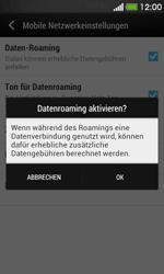 HTC Desire 500 - Ausland - Im Ausland surfen – Datenroaming - Schritt 8