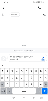 Huawei Y5 (2019) - Contact, Appels, SMS/MMS - Envoyer un SMS - Étape 9