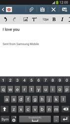 Samsung I9505 Galaxy S IV LTE - E-mail - Sending emails - Step 10