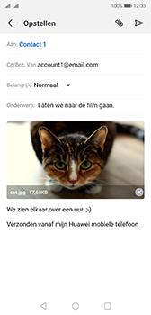Huawei p20-dual-sim-model-eml-l29-android-pie - E-mail - Bericht met attachment versturen - Stap 15