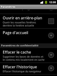 Alcatel OT-903 - Internet - configuration manuelle - Étape 22