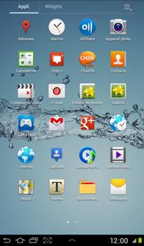 Samsung P3100 Galaxy Tab 2 7-0 - Internet - Configuration manuelle - Étape 17