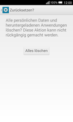 Alcatel Pop S3 - Fehlerbehebung - Handy zurücksetzen - 9 / 11
