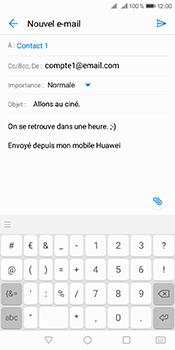 Huawei Y6 (2018) - E-mails - Envoyer un e-mail - Étape 9