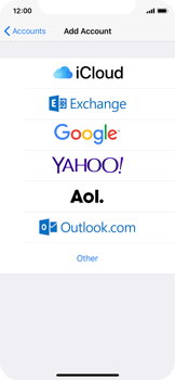 Apple iPhone X - E-mail - 032c. Email wizard - Outlook - Step 5