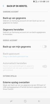 Samsung Galaxy J4 Plus - toestel resetten - back-up maken met jouw account - stap 8