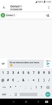 Alcatel 3L - Contact, Appels, SMS/MMS - Envoyer un SMS - Étape 11