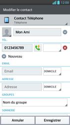 LG Optimus F5 - Contact, Appels, SMS/MMS - Ajouter un contact - Étape 8